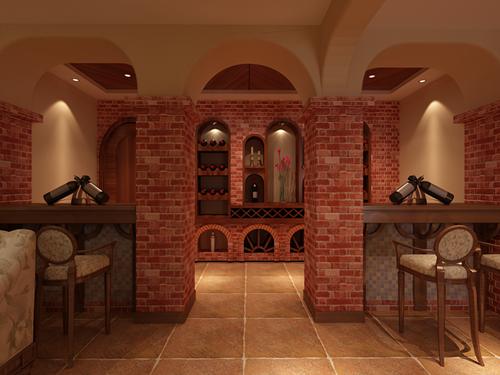 简约欧式-酒柜设计