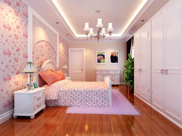 粉嫩的女儿房,透露了女孩的芳香年龄,而且又充满活力的生活空间!