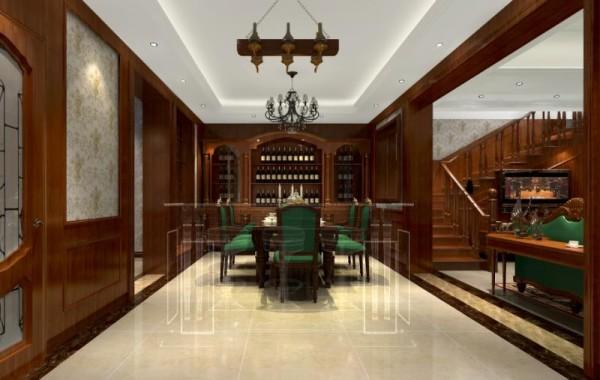 红色的家具给了业主不一样的结果!无论是从家具和灯具的选择上都达到了相互首映