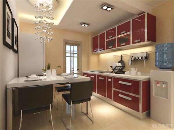 开放式厨房,彰显温馨气息