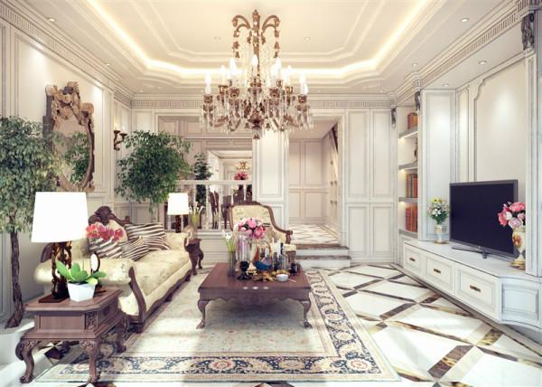 欧式 别墅 客厅 卧室 厨房 旧房改造 简约 80后 三居图片来自北京别墅