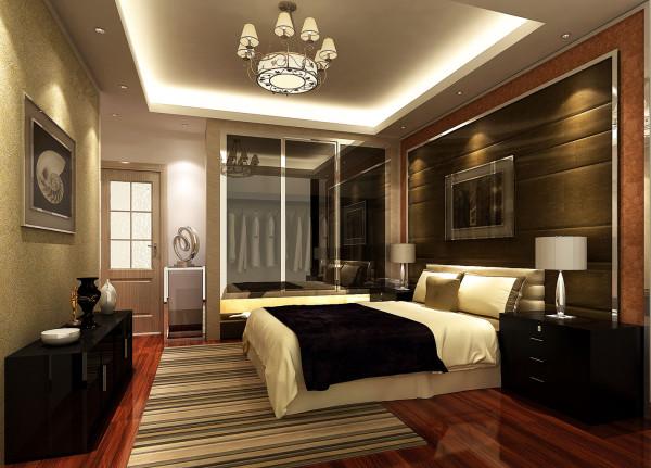 简洁的室内设计虽然显得低调,装点室内空间的高科技材料和闪亮元素却能够在其中完全体现本身的品质和质感,在设计上,经典与现代的元素被完美地结合起来,主卧刚好围绕此设计理念营造出一种无比轻松舒适的环境。