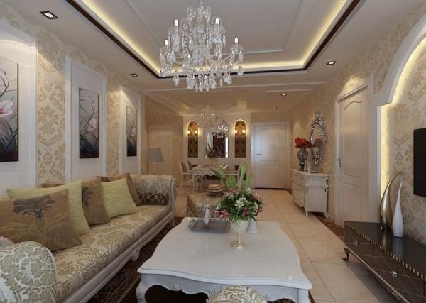 简欧风格-客厅设计