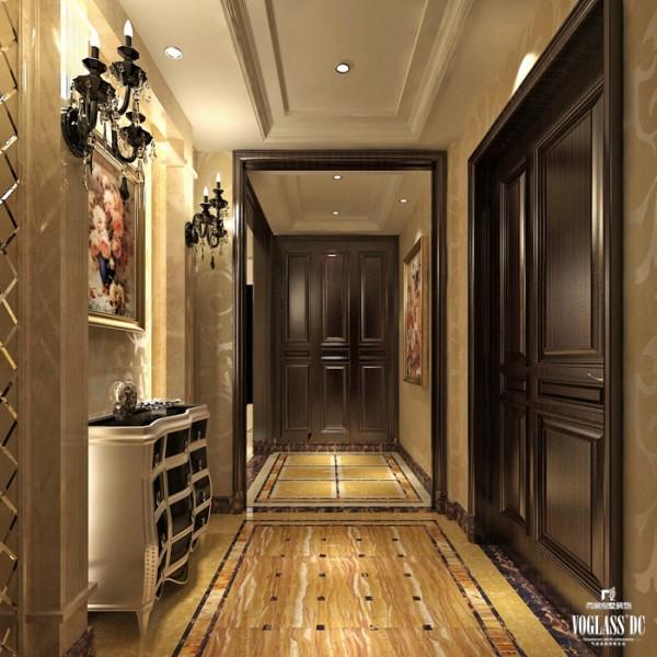 尚层别墅装饰之维科上院 新古典主义风格,在新古典主义风格空间的设计中,可以趋向相对单一的色调,能够很好的冲淡奢华的装饰带来的不适应。