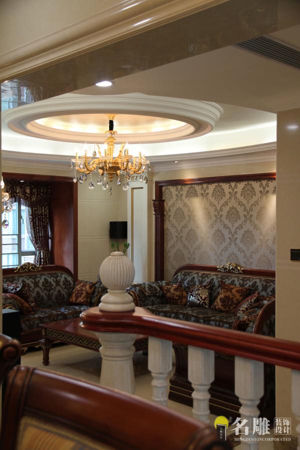 名雕装饰设计——客厅吊顶