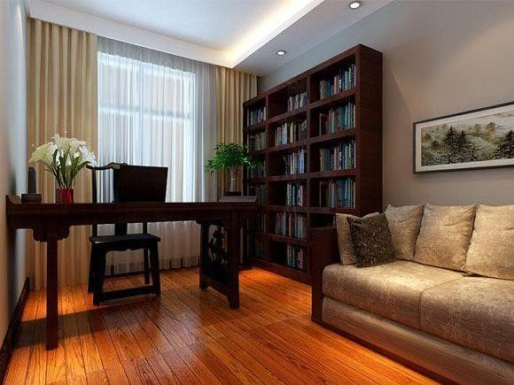 新中式风格-书房设计