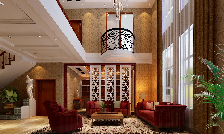简欧 欧式 简约 混搭 别墅 复式 豪宅 客厅 吊顶图片来自沪上名家装饰图片