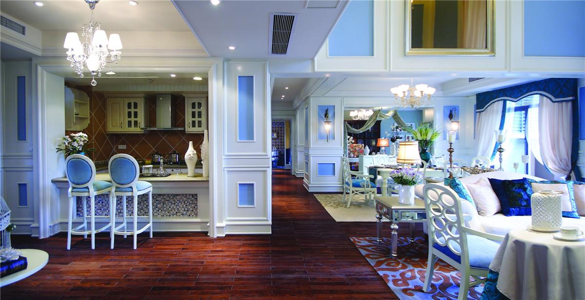 地中海 法式 新古典 别墅 混搭 收纳 小清新 女士 餐厅图片来自装修小