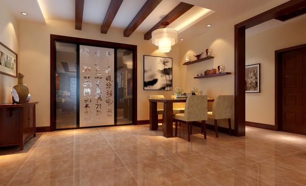 淡黄色墙漆能刺激人的胃口,使人心境愉悦,装修木梁与装修隔板的衬托愈加协调而不失俗套。