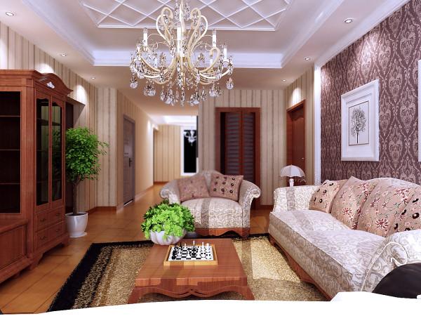 过道空间300mm砖的斜铺为过道增加了宽阔的感觉,复古马赛克座位过道与客厅的过度使得空间变得柔和起来。