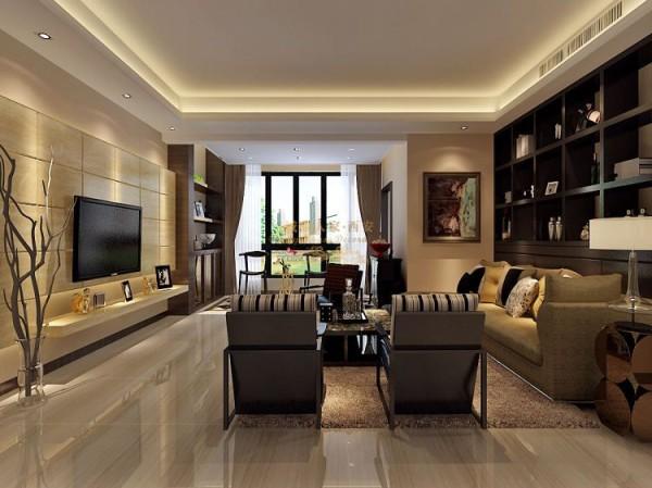 西安城市人家-曲江观唐-简欧风格-140平米三居室装修设计