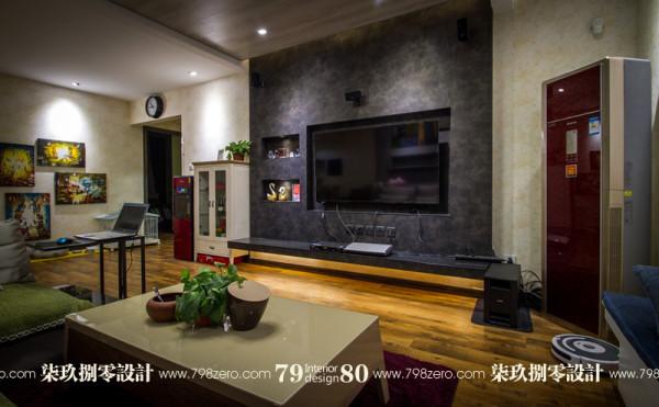 七九八零,旧房改造,简约风格,客厅设计,七九八零设计工作室 更多精彩点击:www.798zero.com