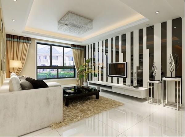 西安城市人家-天朗大兴郡-现代简约-126平米三居室装修设计