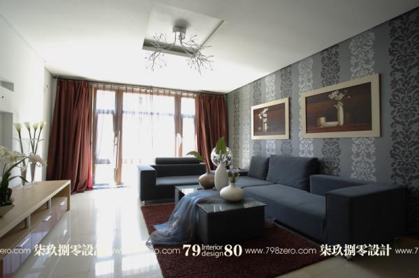 客厅设计,七九八零,简约风格设计,旧房改造,七九八零室内设计工作室