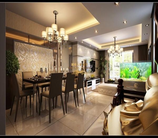 西安城市人家-百花家园-现代简约-140平米三居室装修设计