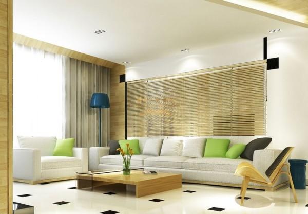 西安城市人家-中铁尚都城-现代简约-126平米三居室装修设计