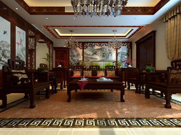 中式沙发 古色古香