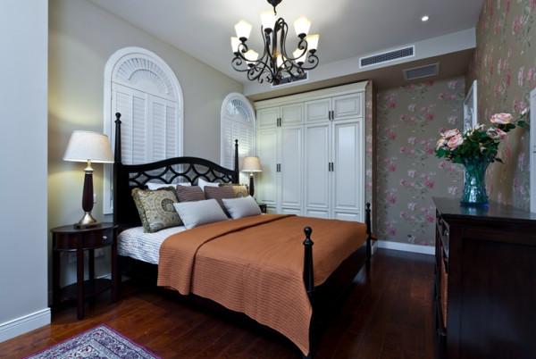 卧室 床 衣柜