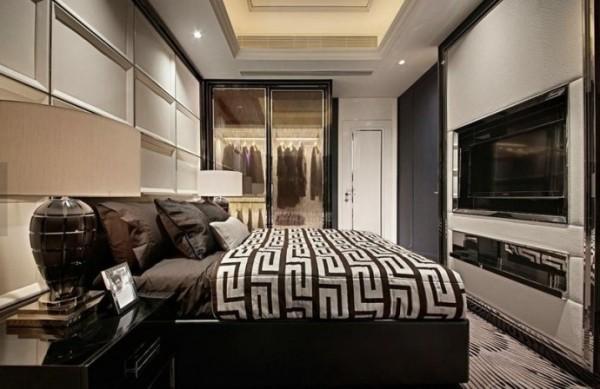 瀚海泰苑131平米卧室装修效果图