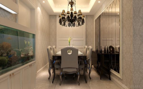 瀚海泰苑131平米餐厅装修效果图
