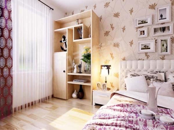 卧室设计则相对温馨很多,明亮舒适。