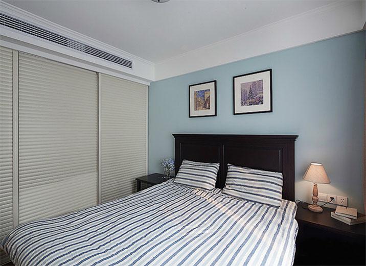 简约 二居 现代 装修效果图 卧室图片来自天津实创装修_装饰在6.
