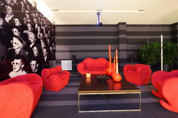 北京新天地后现代别墅装修-沙发一角