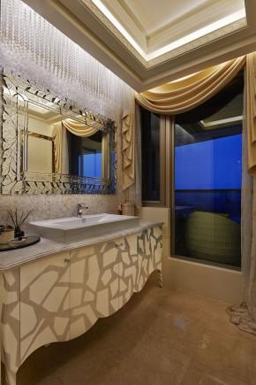 新古典 欧式 三居 白富美 公主房 白领 卫生间图片来自幸福空间在298 m²精工时尚新古典的分享