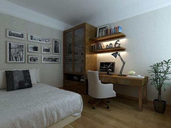 现代简约-书房设计