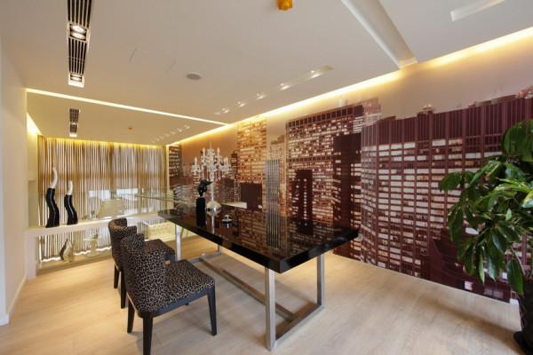 北京新天地后现代别墅装修