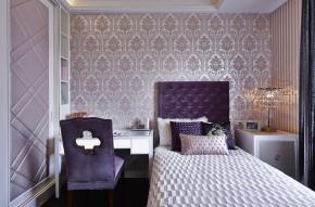 欧式 古典 高帅富 白富美 公主房 白领 混搭 卧室图片来自幸福空间在234m²非纯粹的古典重新演绎的分享