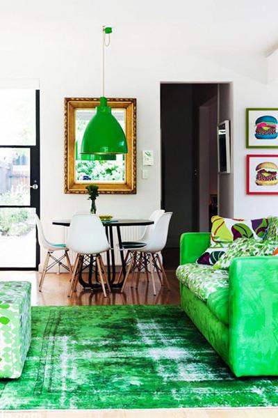 绿色的地毯,一下带给你满眼的绿色