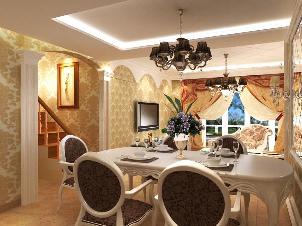 把现有面积客厅装饰出美式的感觉,同时也要把电视墙的整体性装饰美观一些。