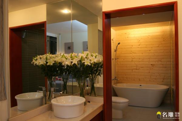 名雕装饰设计——卫生间: