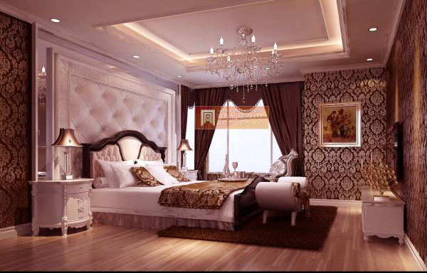卧室的设计:白色的软包背景墙,清晨享受第一缕阳光的照耀,愉快的开始全新的一天。