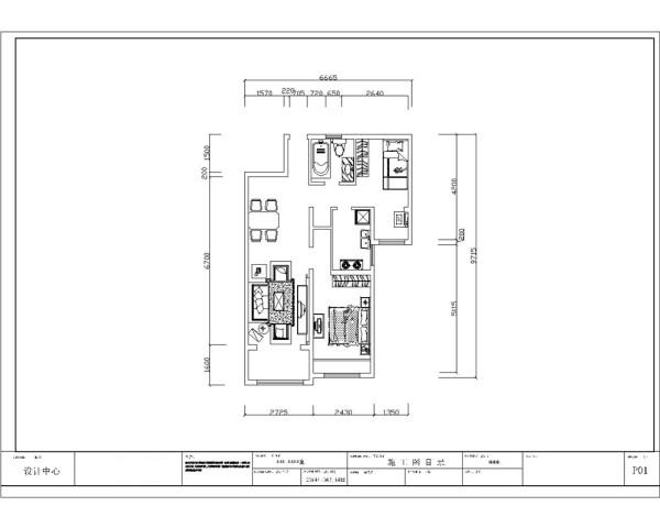 户型分析     该户型为两室两厅一厨一卫,总建筑面积是96.77㎡。入户是玄关,里面是餐厅、客厅,客厅外带阳台,客厅里面是主卧,入户后左转是卫生间和厨房,再往里走是次卧,整体布局规整,功能分布合理。