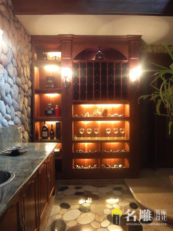 名雕装饰设计作品——酒窖