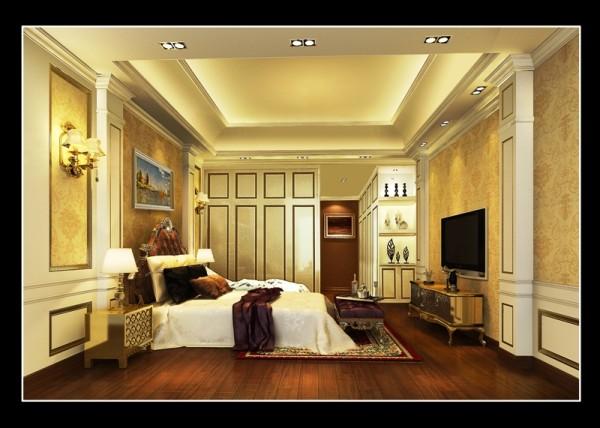 名雕装饰设计—卧室:
