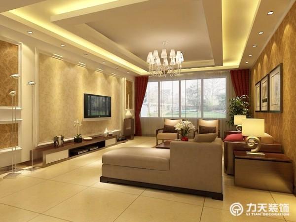 墙面贴以深色花纹壁纸,即不显过度奢华,又不乏低调时尚。