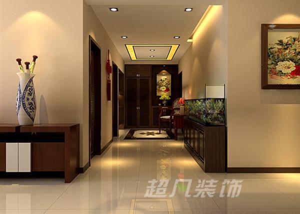 非常国际127平米三室两厅新中式风格装修效果图案例