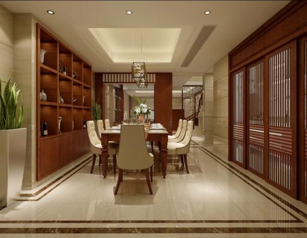 郑州中力七里湾装修设计效果图-餐厅