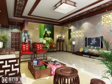 时代豪苑    平层中式风格