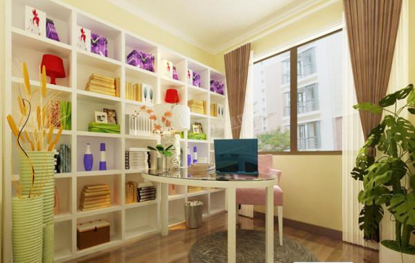 卧室和书房给人带来了一种随性 舒适感