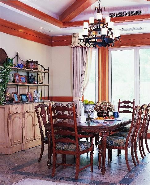 功能强大的美式风格厨柜。