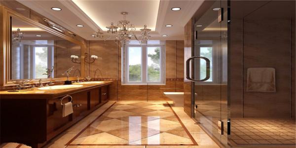 卫生间很人性化的防滑石