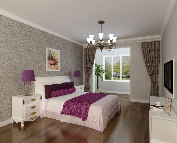 主卧室 干净典雅的主卧室 设计理念:干净典雅的主卧室是主人的私密空间,业主最喜欢让空间尽量的空旷,能有足够的活动空间。16平米的主卧室让主人心里有一种回到了家的感觉,放松、宁静、悠闲开阔无处不在。