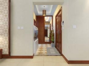 新中式 三居 别墅 旧房改造 客厅 厨房 卧室 儿童房 卫生间 其他图片来自合建装饰在合建装饰-龙湖好望山的分享