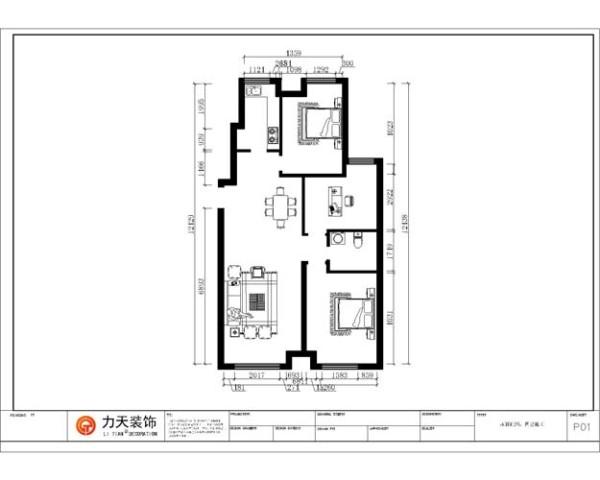 户型说明 本户型为振业城中央10号楼130.6㎡F户型设计。 进户是餐厅和客厅、阳台;靠餐厅右边是厨房;客厅后面是一个主卧。右边是书房中间是卫生间。
