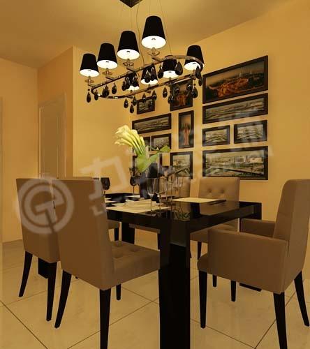 餐厅与厨房紧密相连,方便品尝菜肴;厨房利用率大。