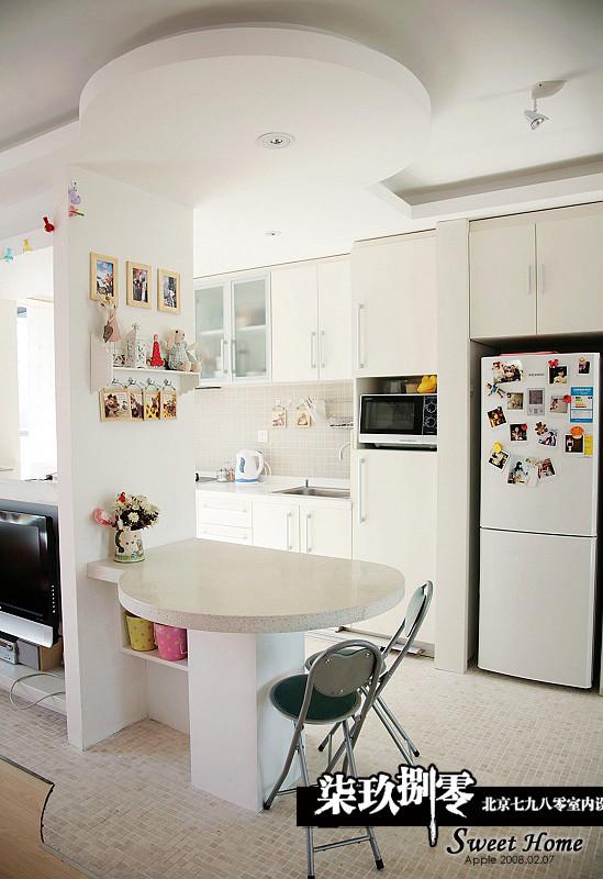 七九八零,时尚简约,小户型设计,厨房设计,七九八零室内设计机构